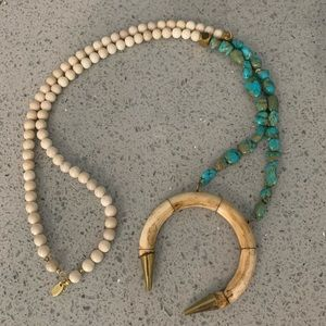 Betsy Pittard horn necklace